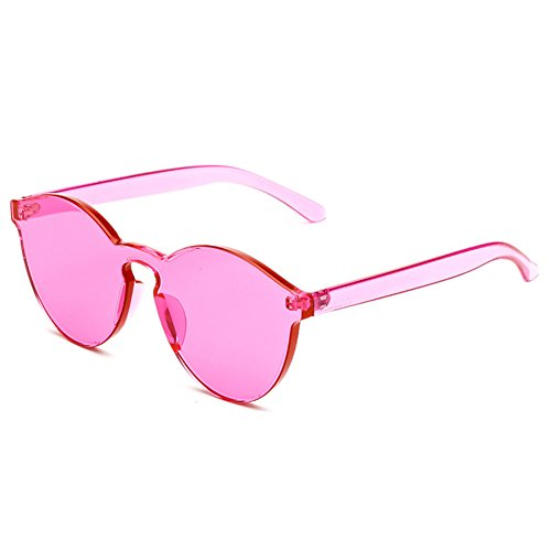 Rose int¨¦gr¨¦es rouge unisexe de soleil hibote UV400 lunettes wzYxUq1