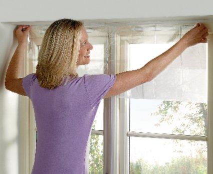 MySmartBuy Indoor Window Insulation Kit Draught Draft Shrink Fit Sealing Film Home Heating Burwells