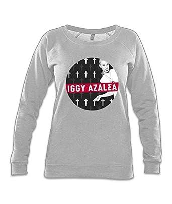 80a777f39859 Iggy Azalea Bw Organic Raglan Sweatshirt  Amazon.co.uk  Clothing