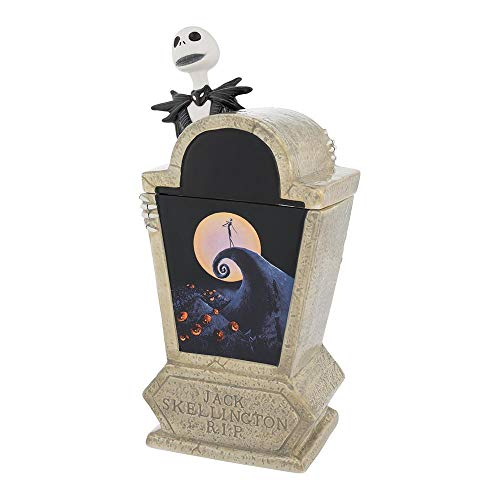 Vandor 55506 The Nightmare Before Christmas Tombstone Sculpted Ceramic Cookie Jar