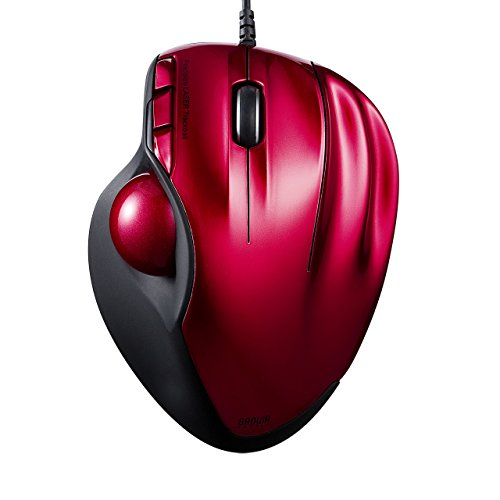 (SANWA SUPPLY PC Trackball Mouse USB MA-TB44R (RED) )