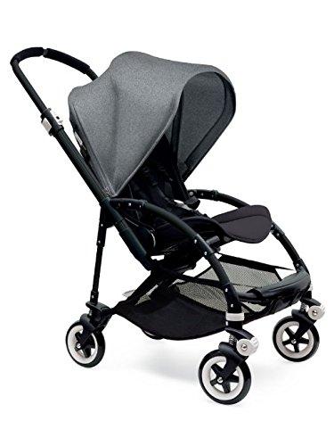 Bugaboo Bee3 Stroller – Grey Melange Black Black