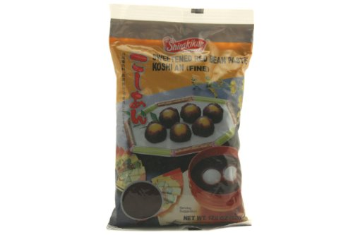 Koshi an (Fine Sweeted Red Bean Paste) - 17.6oz (Pack of 3)