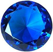 Tripact 60 mm Crystal Diamond Shaped Jewel Paperweight - 01