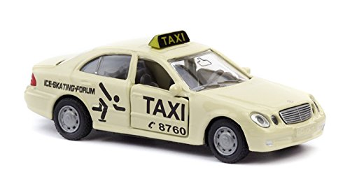 Mercedes E Class Taxi 3-inch Model Car