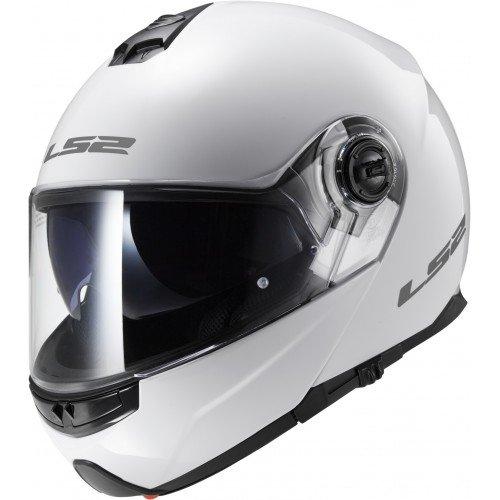 Blanc LS2 Casque moto STROBE Blanc M Taille M
