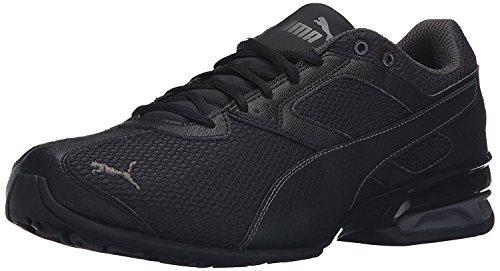 Puma Mens Tazon 6 Mesh Dotd Cross-Trainer Shoe, Black/Asphalt, 40.5 D(M) EU/7 D(M) UK