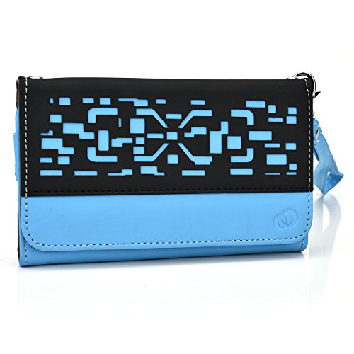 Indigi M7 Phone case wristlet with I.D holder and Coin Pocket