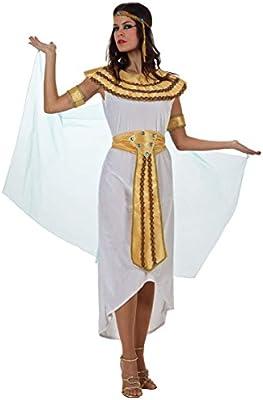 Atosa-70025 Disfraz Egipcia, color blanco, M-L (70025): Amazon.es ...