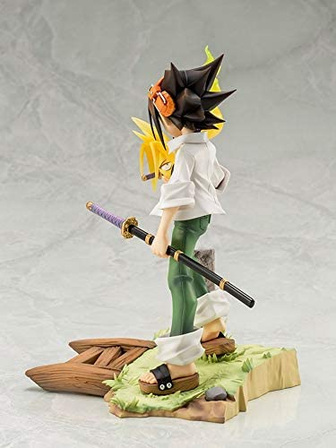 Moerc 18cm Anime Standbeeld Shaman King figuur U Asakura Figuur Anime Figuur Action Figure 1/8 Scale PVC Action Figure Anime Figures Model Toys Collection Doll Gift