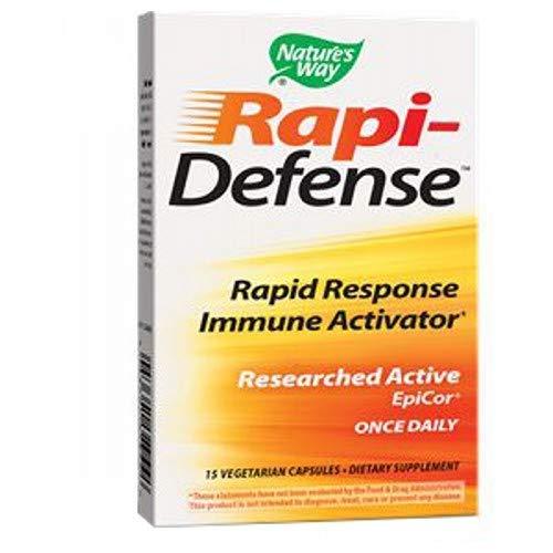 Nature'S Way Rapi-Defense Vegetarian Capsules, Pack of 3