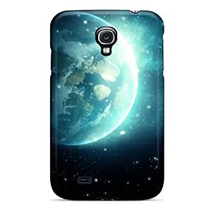 Forever Collectibles Blue Galaxy Hard Snap-on Galaxy S4 Case