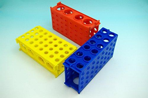 Flipper Rack - Beyondsupply-one lab 4-Way Flipper Rack Multi-Purpose Plastic Tube centrifuge Tube Rack New