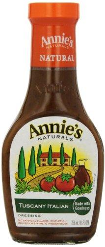 (Annie's Gluten Free Natural Tuscany Italian Dressing 8 fl oz Bottle)