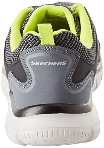 lime Charcoal Skechers Agoura Burns 52635 Black wpgWZOXq