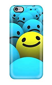 Anti-scratch Case Cover LastMemory Protective Smiley Faces Case For Iphone 6 Plus