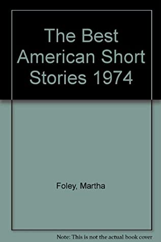 book cover of The Best American Short Stories 1974