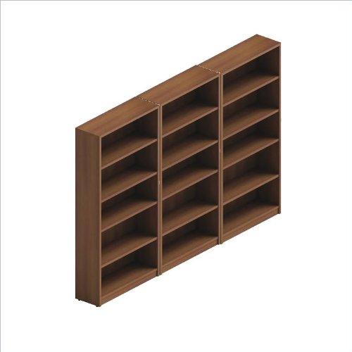Global Total Office Adaptabilities Wall Bookcase in Avant Honey