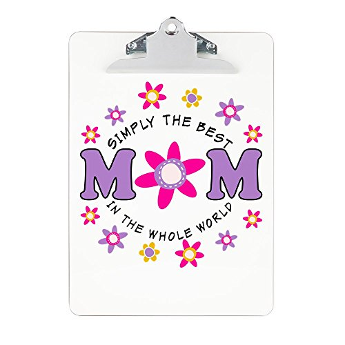 Clipboard Simply Best MOM In The Whole World by Royal Lion