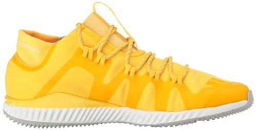 adidas by Stella McCartney Damen Crazymove Bounce Mid Sneaker Wunder Glow / Wonder Glow / Ftwr Weiß