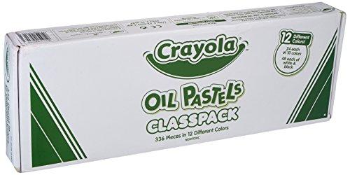 Crayola Oil Pastels Classpack (Box of 336) (Pastels Oil Crayola Classpack)