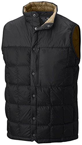Mountain Hardwear PackDown Vest - Men's Black Medium
