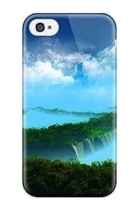 AmandaMichaelFazio Premium Protective Hard Case For Iphone 4/4s- Nice Design - Amazing Mountain