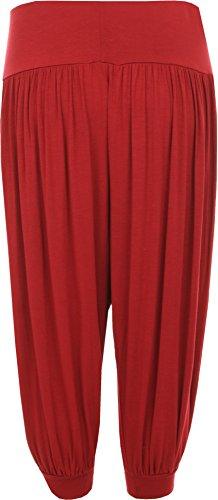 WearAll WearAll Pantaloni sportivi Rosso Donna Pantaloni BB1qHwnr