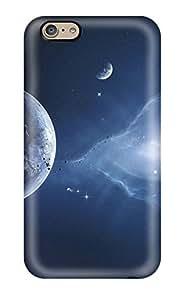 Craigmmons Iphone 6 Hybrid Tpu Case Cover Silicon Bumper Planets Sci Fi People Sci Fi