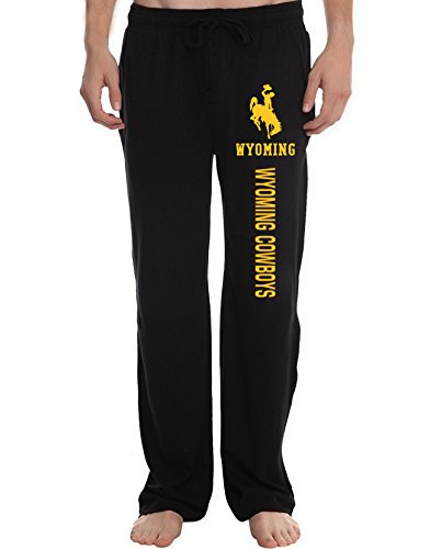 fan products of XTD Men's Wyoming Cowboys College Lounge Pajama Pants