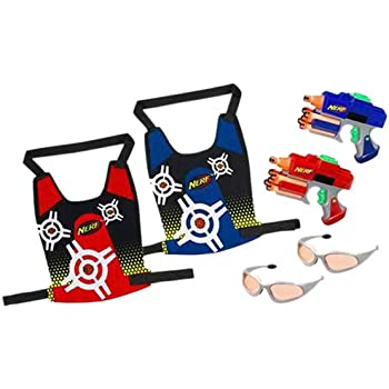 Nerf Dart Tag Strikefire 2-Player Duel System (Colors May Vary)