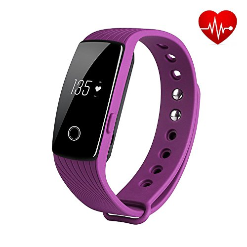 REDGO Fitness Tracker Wireless Waterproof Activity Wristb...