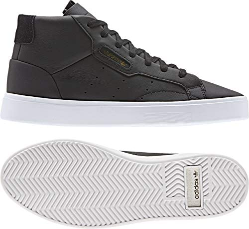 Incomodidad Miau miau Polar  Amazon.com | adidas Originals Women's Sleek Mid Leather Shoes | Fashion  Sneakers