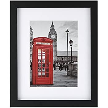 Amazon.com - One Wall 8x10 Picture Frame 1 Pack Tempering Glass with ...