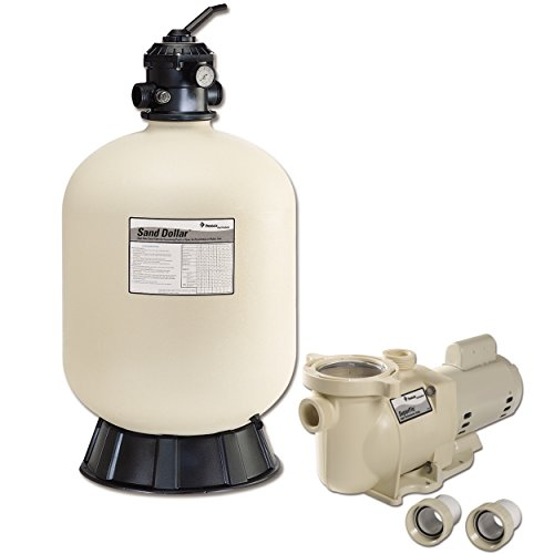 Pentair 22.5 Inch Sand Dollar In Ground Pool Sand Filter System - 145322