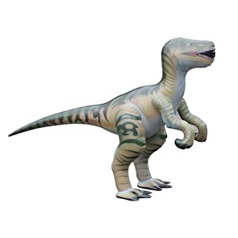 Amazon Com Inflatable Velociraptor Dinosaur 51 Quot Tall