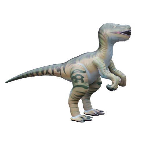 Jet Creations Inflatable Velociraptor Dinosaur, 51