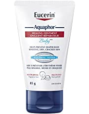 EUCERIN Aquaphor Baby Healing Ointment (85g), Multipurpose Baby Skin Care For Sensitive and Dry Skin, Baby Ointment that Helps Prevent Diaper Rash