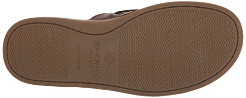 Top sider 10 O Infradito box Sandalo Mens Marrone Un M Scuro Noi Sperry flop Flip dBwxpq5d
