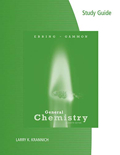 Study Guide for Ebbing/Gammon's General Chemistry, 11th
