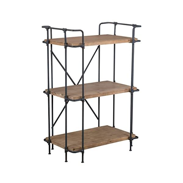 Christopher Knight Home Yorktown 3-Shelf Bookcase, Antique 3