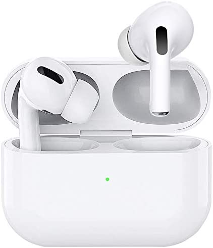 Wireless Earbuds Bluetooth 5.0 Headphones with Charging Case Noise Cancelling three-D Stereo Headphones Built in Mic in Ear Ear Buds Pop-ups Auto Pairing Headphones for iPhone/Android/Apple AirPods Pro