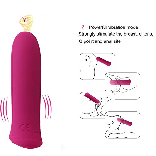 Pussy Bullet Vibrator Waterproof G-Spot Clitoral Stimulation Intimate Goods Adult Sex Toys for Female Vagina Vibrator