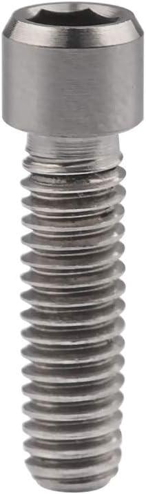 Pour vous Titane M4 X 10 13,5 15 20 25 mm cl/é Allen petit boulon /à t/ête for le pouce v/élo Shifter arri/ère//D/érailleur H//L Vis de r/églage Color : M4x10mm Gold