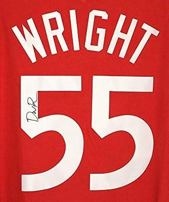 cc72caacf64 Delon Wright Toronto Raptors Signed Autographed Red  55 Custom Jersey