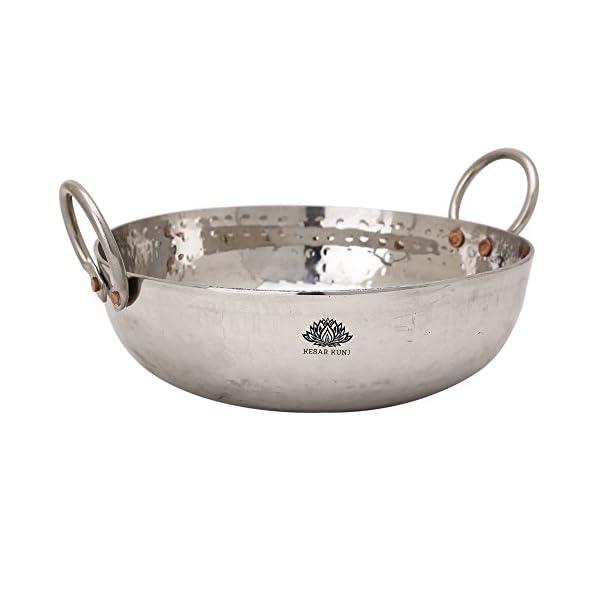 Stainless Steel Kadai Cookware