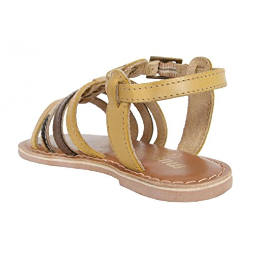 Sandales pour Fille MTNG 83509 NAPPA LEATHER BEIGE