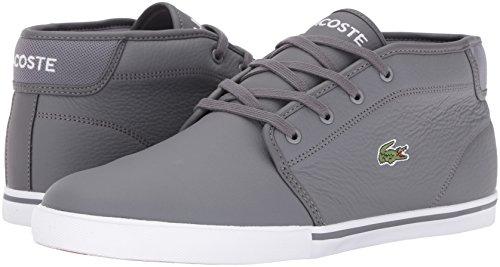 Lacoste Men's Ampthill G416 1 Casual Boot Fashion Sneaker, Dark Grey, 8 M US