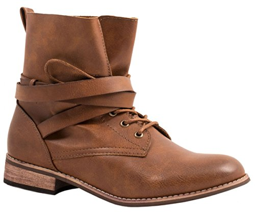 biker cuir a boots Camel femme Bottines bottes Orlando 8530 36 tige worker chaussures taille wXnICq