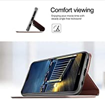 Xiaomi MI A2 Case, Premium Flip Case Cover for Xiaomi Mi 6X